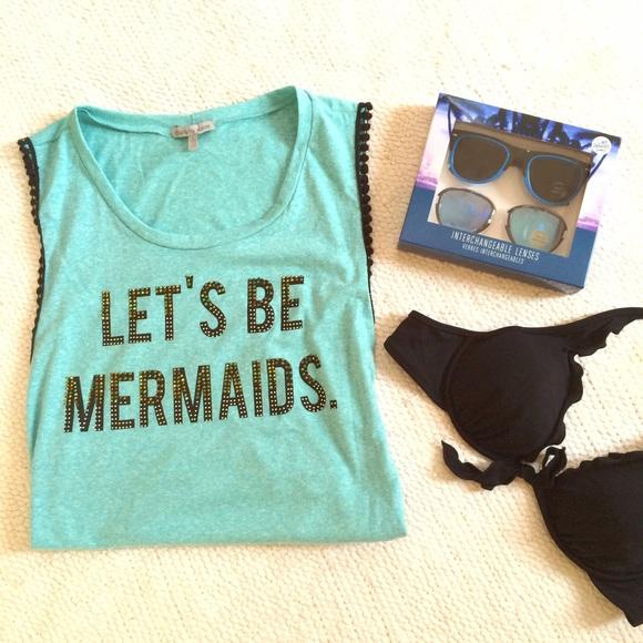 PM EDITOR PICK!! Mermaid Top & Sunglasses Set