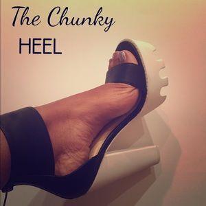 Shoes - Chunky Heel
