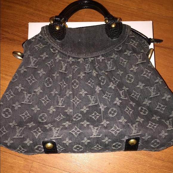 076e2a9e7 Louis Vuitton Handbags - Vintage Denim material Louis Vuitton Bag