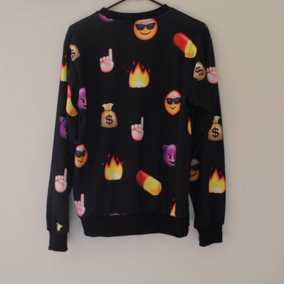 Jackets & Coats - EMOJI SWEATSHIRT