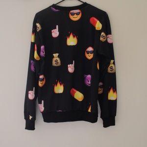 Jackets & Coats - EMOJI SWEATSHIRT
