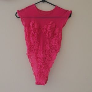 Other - HOT PINK LINGERIE