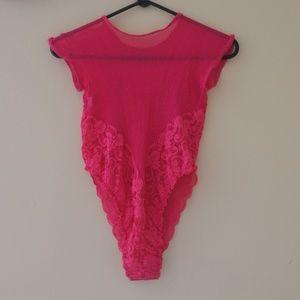 Intimates & Sleepwear - HOT PINK LINGERIE