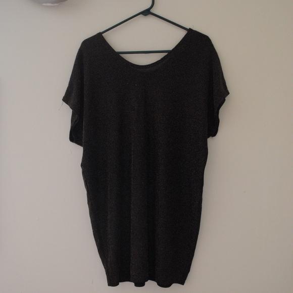 Dresses - SLOUCHY GLITTER DRESS