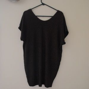 Dresses - SLOUCHY GLITTER DRESS