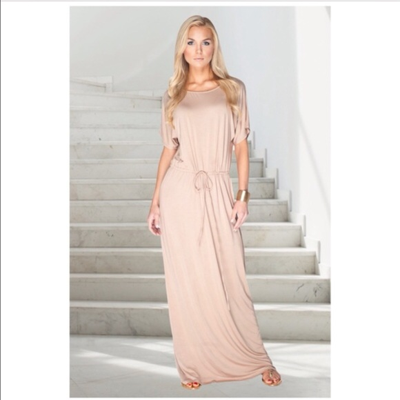 12% off Dresses & Skirts - FAB light tan maxi Dress 😊 from ...