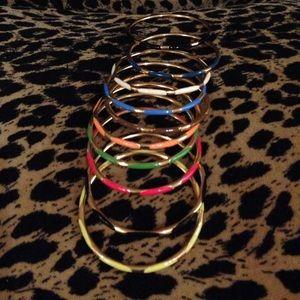 Multi Color Costume Jewelry bangle bracelet