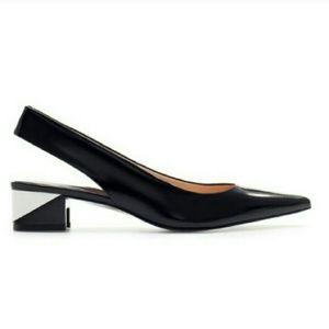 Zara Shoes - [PM Editor] Zara Chunky Heel Slingback