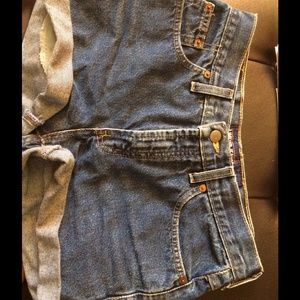 Denim - Vintage high waisted shorts