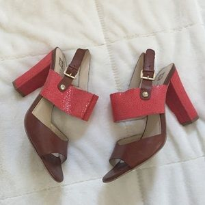 Anne Klein Block Sandals!