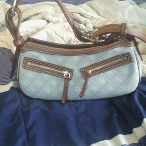 Small blue dooney and bourke