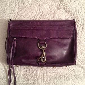 Rebecca Minkoff Handbags - Rebecca Minkoff Purple M.A.C. Crossbody