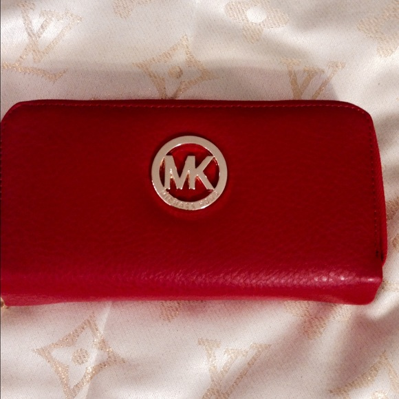 Handbags - MK wallet in red d3d0309e0