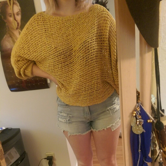 Free Crochet Pattern Cropped Sweater : 84% off Free People Tops - Cropped crochet free people ...