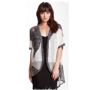 One Teaspoon Tops - DISTRESSED DROP STITCH CARDIGAN ~ NWT