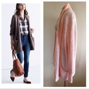 Peachy Vintage Oversized Sweater