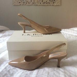 Shoes - **SOLD**L.K. Bennett sling back heels