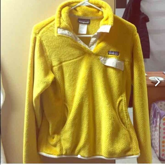 52% off Patagonia Sweaters - Yellow Patagonia Pullover from ...