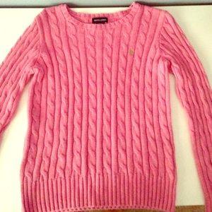 Pink Ralph Lauren sweater