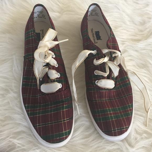 Keds Shoes | Keds Tartan Shoes Nwot
