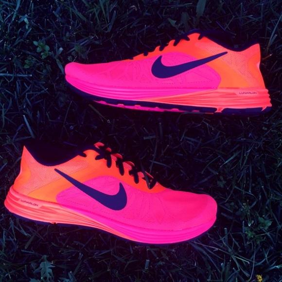 buy online fdb4b ff540 Nike Lunarlaunch Sneakers in Hyper Punch