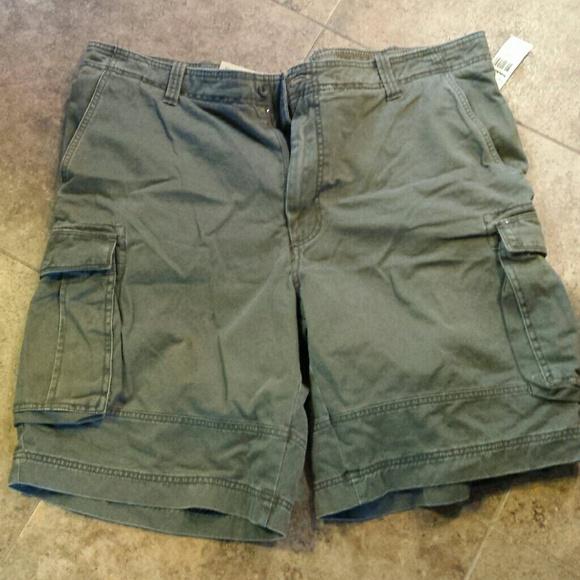 4ce49a5a18 Timberland Shorts | Mens Green Cargo | Poshmark