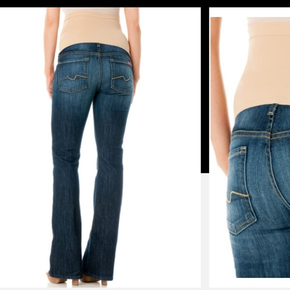 88% off 7 for all Mankind Denim - 7 for all mankind maternity ...