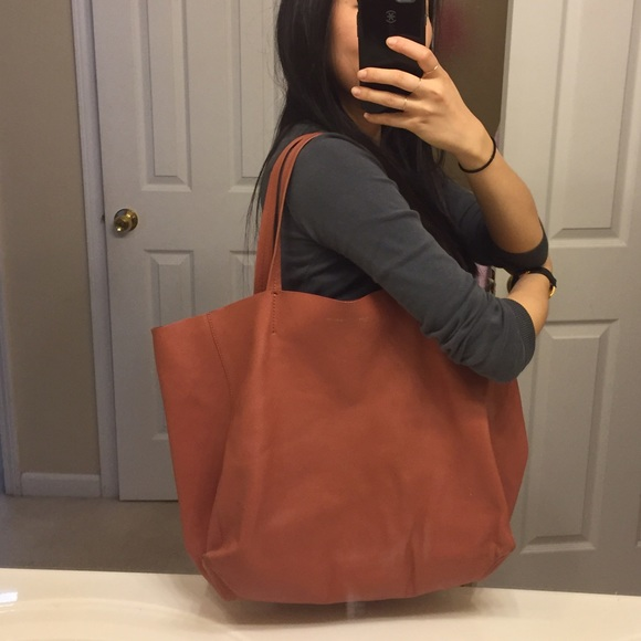 71% off Celine Handbags - Celine Cabas Tote in Terracotta - tags ...