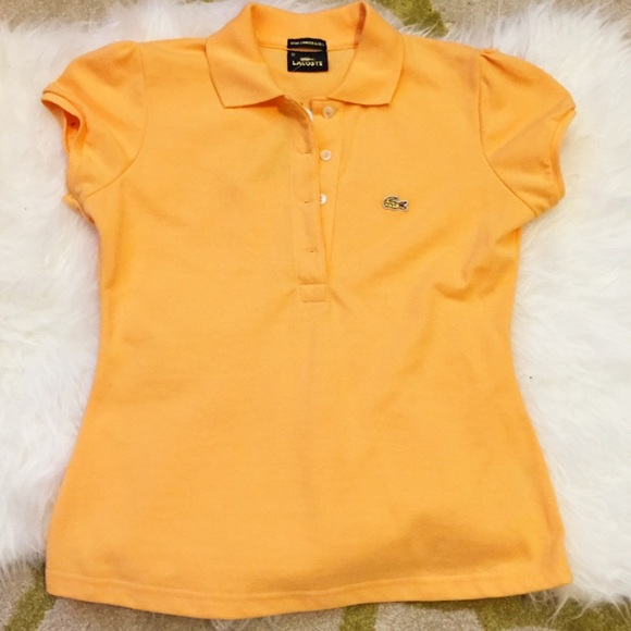 025934137 Lacoste Tops | Limited Edition Gold Series Womens Polo | Poshmark