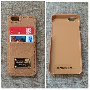 newest cf166 ce2ba Michael Kors Card Holder iPhone 6 Case