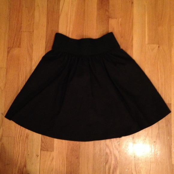 express black high waisted skirt from emily s closet on