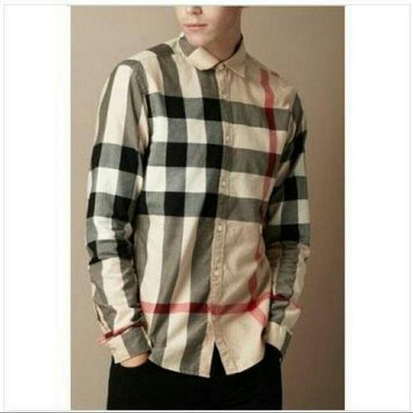 ca392332479 Burberry shirt Mens