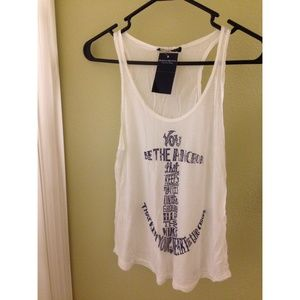 Brandy Melville anchor tank and topshop graphic