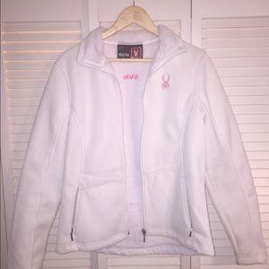 Jackets & Blazers - Large white Spider coat