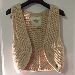 Knitted Vest Abercrombie and Fitch