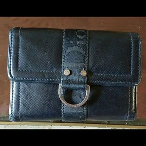 Authentic Christian Dior black wallet