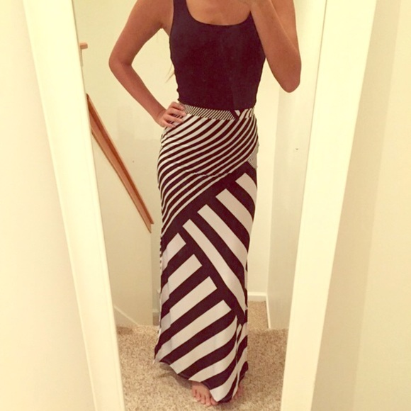 Charlotte Russe - ❌UNAVAILABLE❌✨Charlotte Russe Striped Maxi ...