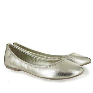 💚MIA Gold Ballet Flats