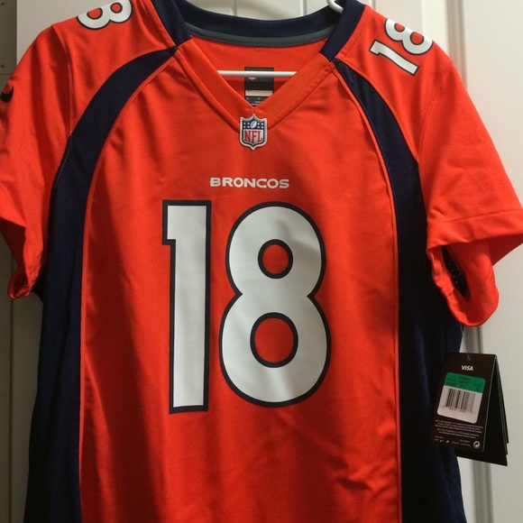 b57114ef1 Denver Broncos Peyton Manning jersey