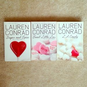 Lauren Conrad L.A. Candy Novels - 3 Books