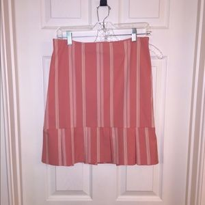 83 loft dresses skirts loft coral pink pleated