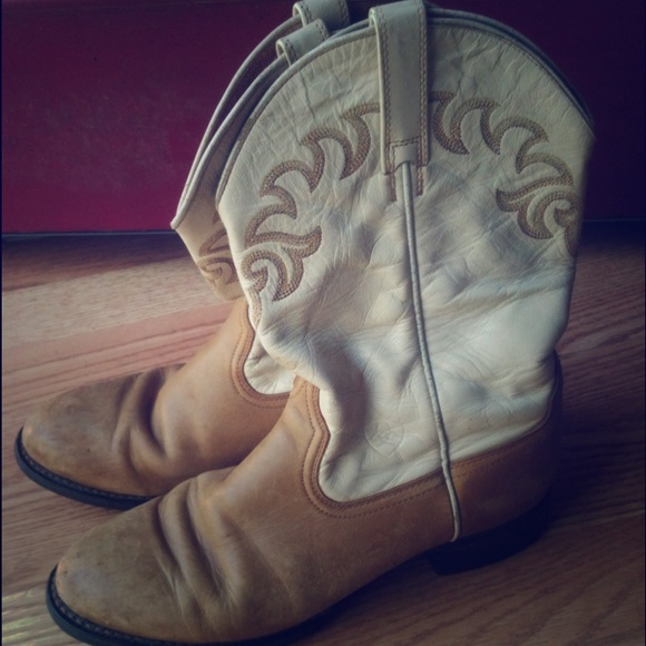 33% off Ariat Boots - Vintage Ariat Cowboy boots👍👍👍 from ...