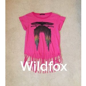Wildfox top in size small