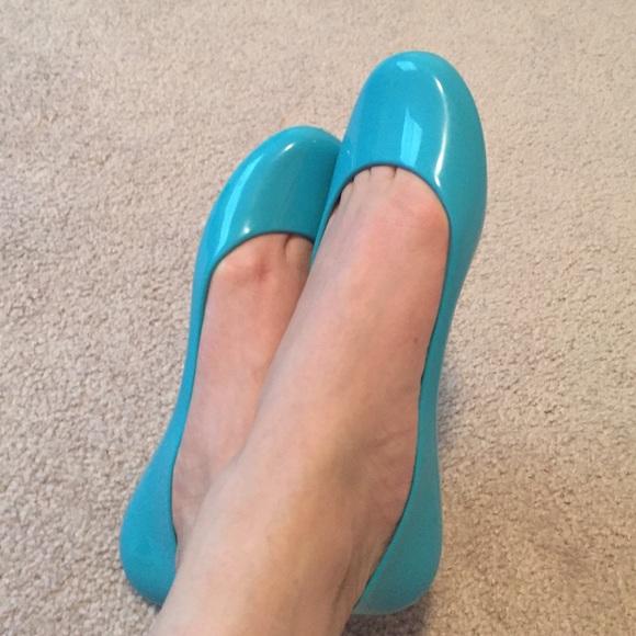 745bb8de7d853a New Oka B Taylor Turquoise Ballet Flats US7 EU37