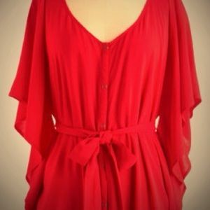 Modcloth red tunic