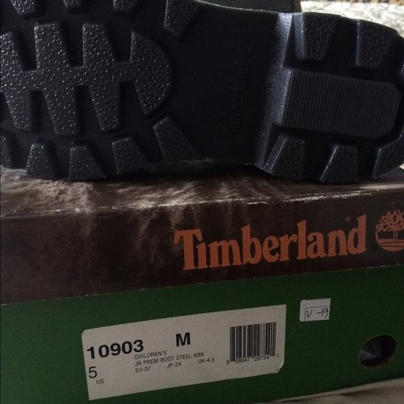 Chicos Botas Timberland Tamaño 5 eh2Je