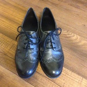 Christian Siriano Shoes - Classic Black Oxfords