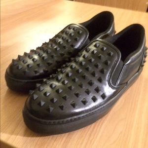 Valentino Studded Slip-on sneakers Men size 10