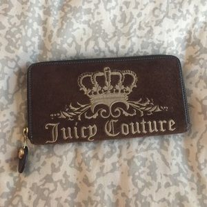 Authentic Large Juicy Couture Wallet