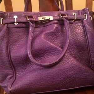 Large Purple Tote